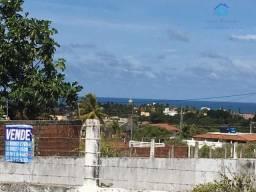 Lote murado, linda vista para o mar, 360 m²