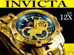 9d44aad706a Relógio Invicta 22765 Ouro 18K 100% Original em 12X Melhor preço e  atendimento