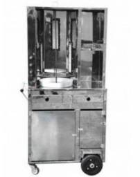 Maquina de churrasco grego