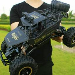 GIGANTE carrinho 4x4 controle remoto