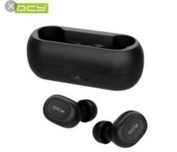Fone de ouvido Bluetooth QCY 5.0 sem com microfone embutido lacrado