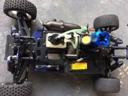 Automodelo off road buggy 1:10 4x4 combustão exceed - Somente venda!!!