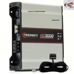 CS-Canal Som Instalação Grátis, Módulo Taramps HD3000 Digital! 529,99 À Vista ou 12x 53,00