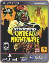 Título do anúncio: Ps3 Undead Nightmare - Red Dead Redemption
