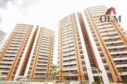 Apartamento com 2 dormitórios à venda, 98 m² por R$ 629. - Guararapes - Fortaleza/CE