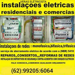 Veras eletricista instalação elétrica predial residencial comercial