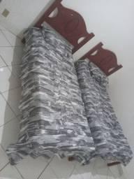 02 camas de solteiros