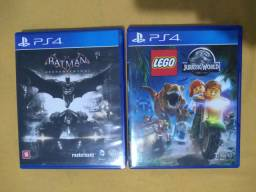 Batman Arkham Knight & Lego Jurassic World PS4