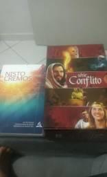 Vende-se livros Box Série Conflito e Nisto Cremos