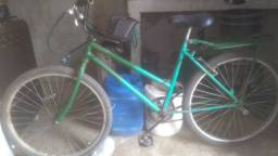 Bicicleta com garupa e cadeirinha