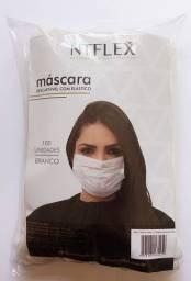 Mascara descartável profissional pacote com 100 unidades