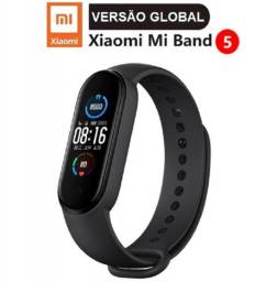 Relógio Mi Band 5 Xiaomi Pulseira Lançamento Versão Global Pronta Entrega