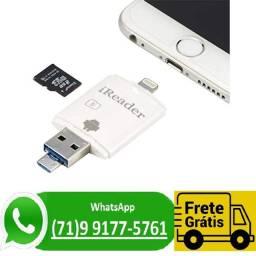 Telefone Usb Leitor De Cartão Sd Universal Para iPhone (NOVO)