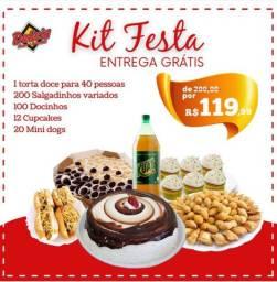 Kit Festa c Taxa de entrega grátis p toda Fortaleza Por Apenas 119,99