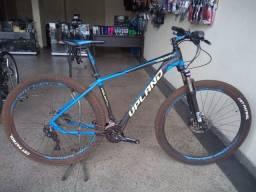 Bicicleta Bike Aro 29 20v - Shimano Deore Suntour, Susp Trava e Freio Disco Hidráulico