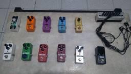 Pedais Guitarra - Mini - Preços Variados ( Somente Venda !!! )