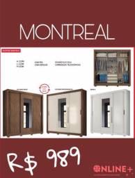 Guarda roupa Montreal- Queima de estoque!!!