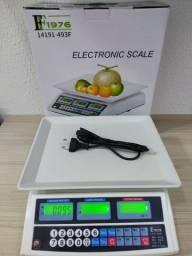 Super Balança comercial, pesa até 40kg