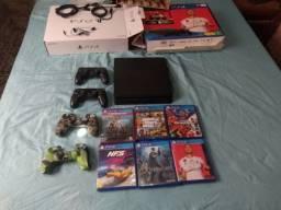 Playstation 4 na caixa