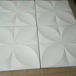 Placas de gesso 3d decorativas