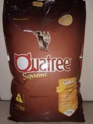 Racao Gatos Quatree Supreme Castrados 15 Kg A Melhor do Mercado