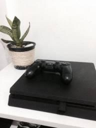 Ps4 Slim com vários benefícios, 9 meses de games online
