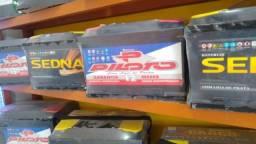 Baterias 60ah novas com 1 ano de garantia