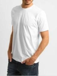 Camisetas brancas 100% poliester