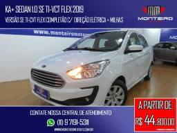 Ford Ka+ Sedan 1.0 SE TI-VCT Flex Completo C/ Direção Elétrica + Milhas