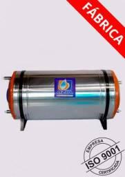 Boiler de Aço Inox 304 - 150 Litros Baixa Pressão 5 M.C.A - NOVO