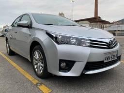Corolla Altis 2015 Raridade U.Dono 57km Revisões Na Toyota