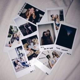 Revelação em fotos Polaroid
