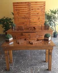 Mesas, Pallet, Armário- Locação