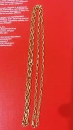 Corrente Elo Cartier Ouro 18k