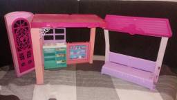 Casa da Barbie com mini boneca