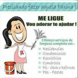 FAÇO FAXINAS TEMPORADA