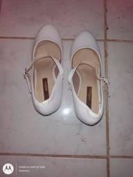 Sapato usado uma vez