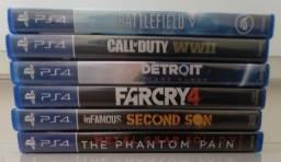 Venda ou troca de jogos de PS4