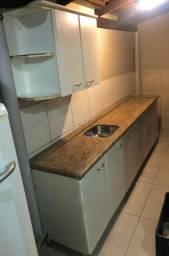 Balcão pia cozinha granito + armário parede