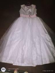 Vendo ou Alugo vestido Daminha menina ...