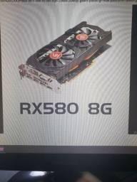 troco rx 580 por play5