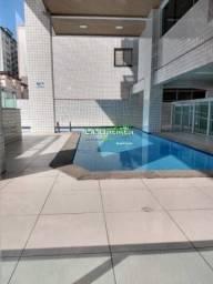 Apartamento à venda com 2 dormitórios em Guilhermina, Praia grande cod:492