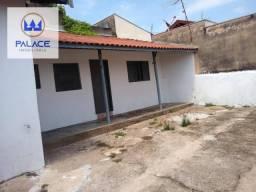 Casa com 1 dormitório para alugar, 75 m² por R$ 550/mês - Jardim Esplanada - Piracicaba/SP