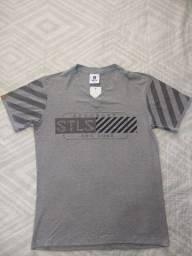 Kit 3 camisetas masculinas