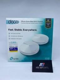 Sistema de WiFi TP-Link Deco M5 Ehole-Home AC1300 C/2 unidades