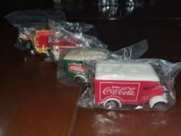 Coleção carrinhos Coca-Cola<br>Original