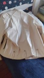 Jaqueta de couro ligitima