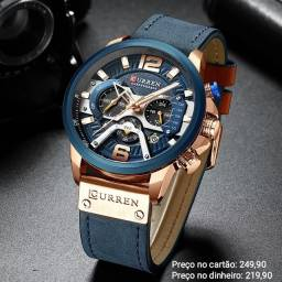 Relógio Masculino Importado Original Curren Funcional