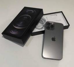iPhone 12 Pro Max Grafite 5G 128Gb Novo/Lacrado , Nota Fiscal + Garantia Apple de 1 ano