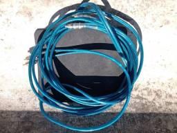 Cabo Rca 10 Metros Blindado Tech One 5mm